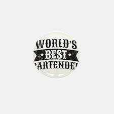World's Best Bartender Mini Button (10 pack)