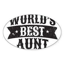 World's Best Aunt Decal
