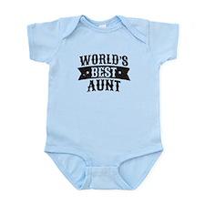 World's Best Aunt Body Suit