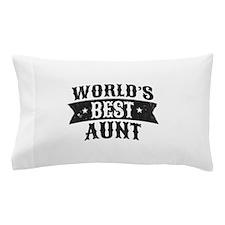 World's Best Aunt Pillow Case