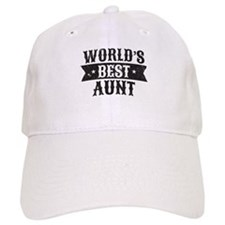 World's Best Aunt Baseball Cap