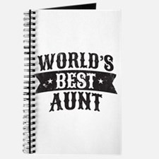 World's Best Aunt Journal