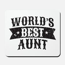 World's Best Aunt Mousepad