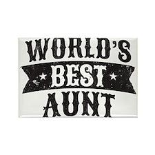 World's Best Aunt Magnets