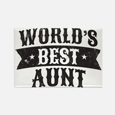 World's Best Aunt Magnets