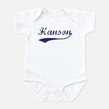 Hanson - vintage (blue) Infant Bodysuit