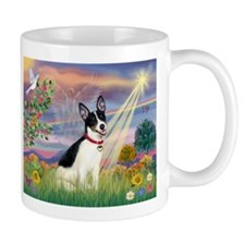Cloud Angel & Rat Terrier Mug