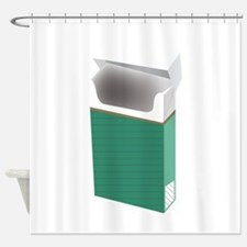 Newport smoke Shower Curtain
