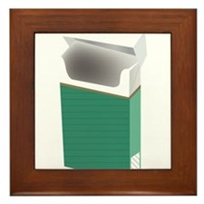 Newport smoke Framed Tile