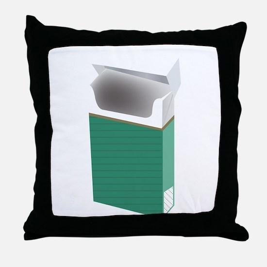 Newport smoke Throw Pillow