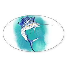Watercolor Sailfish copy Decal