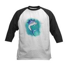 Watercolor Sailfish copy Baseball Jersey