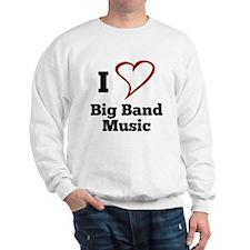 I Love Big Band Music Jumper