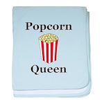 Popcorn Queen baby blanket