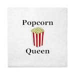 Popcorn Queen Queen Duvet