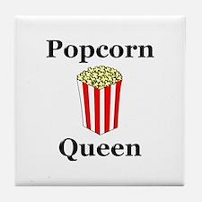 Popcorn Queen Tile Coaster