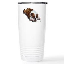Cute Bulldog lover Travel Mug