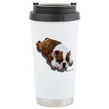 Cute English bulldog lover Travel Mug