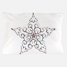 Iridescent Star Pillow Case