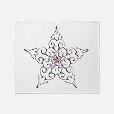 Iridescent Star Throw Blanket