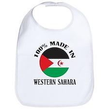 Made In Western Sahara Bib