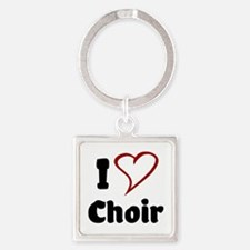 I Love Choir Keychains