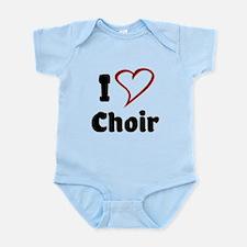 I Love Choir Body Suit