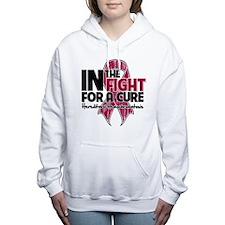 Cure Hereditary Hemochr Women's Hooded Sweatshirt