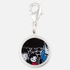 Donnie Darko - Cinema Scene Silver Round Charm