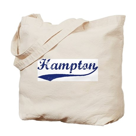 Hampton - vintage (blue) Tote Bag