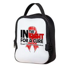 Cure Heart Disease Neoprene Lunch Bag