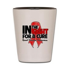 Cure Heart Disease Shot Glass