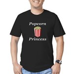 Popcorn Princess Men's Fitted T-Shirt (dark)