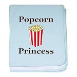 Popcorn Princess baby blanket