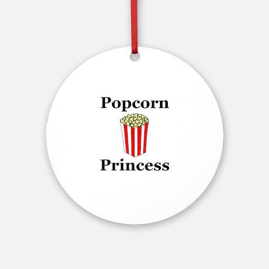 Popcorn Princess Ornament (Round)
