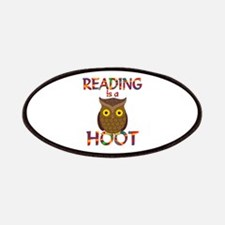 Reading is a Hoot Patches