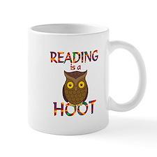 Reading is a Hoot Mug