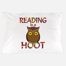 Reading is a Hoot Pillow Case