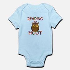 Reading is a Hoot Infant Bodysuit