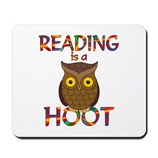 Reading is a Hoot Mousepad