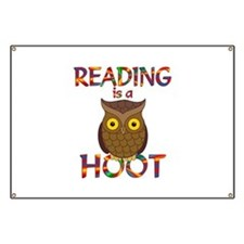Reading is a Hoot Banner
