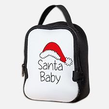 Santa Baby Neoprene Lunch Bag