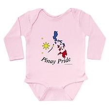 Pinay Pride Long Sleeve Infant Bodysuit