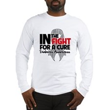 Cure Diabetes Long Sleeve T-Shirt