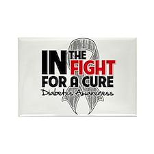 Cure Diabetes Rectangle Magnet