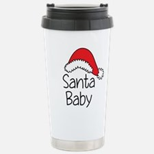 Santa Baby Stainless Steel Travel Mug