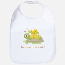 Cute Turtle Mommy and Child Bib