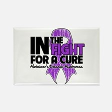 Cure Alzheimers Disease Rectangle Magnet
