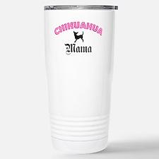 Unique Chihuahua mom Travel Mug