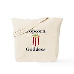 Popcorn Goddess Tote Bag